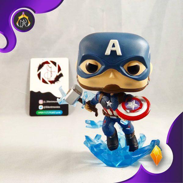 فانکو پاپ Captain America With Broken Shield And Mjoinir