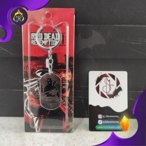 جا کلیدی رپلیکا پلاک Red Dead Redemption