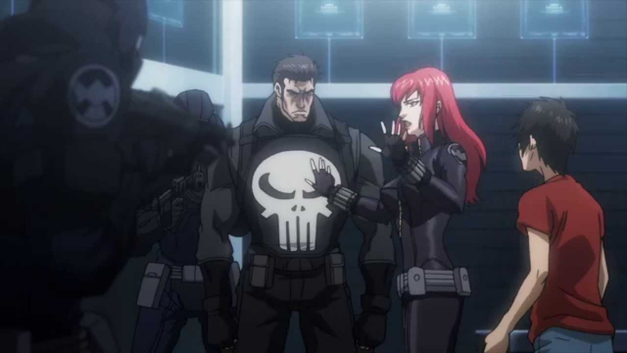 Avenger Confidential: Black Widow & Punisher
