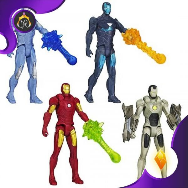 ست اکشن فیگور های Iron Man