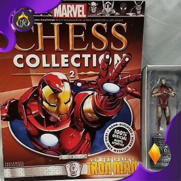 ست فیگور و کامیک Iron Man