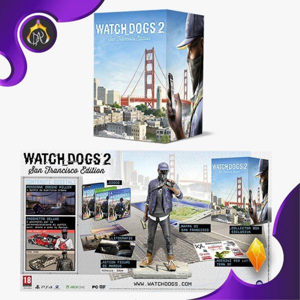 پکیج کالکتورز ادیشن Watch Dogs 2 San Francisco