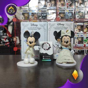 مجسمه Mickey Mouse & Minnie Mouse Bridal