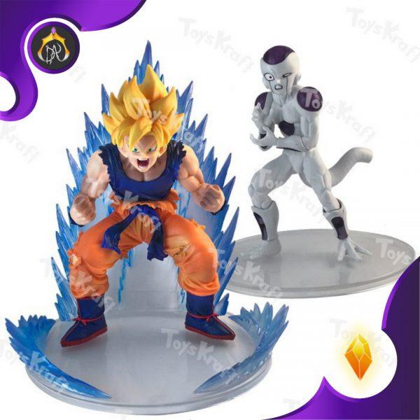 ست فیگور های Dragon Ball Z Action Figure Set - Super Saiyan Goku Frieza