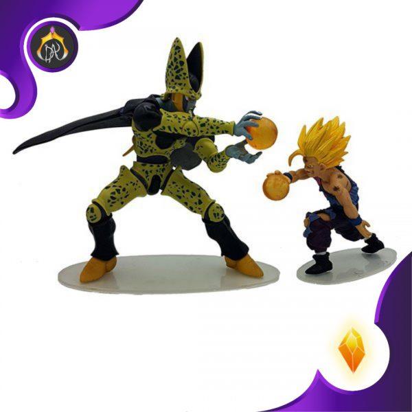 ست فیگور های Dragon Ball Z Action Figure Set - Gohan & Cell