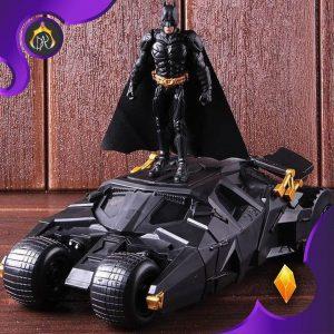اکشن فیگور و بتموبیل Batman & Tumbler