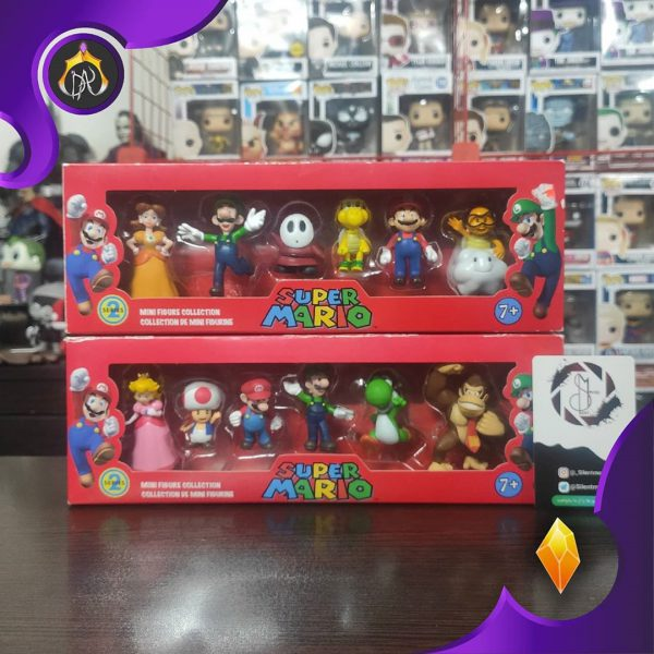ست فیگور های Super Mario