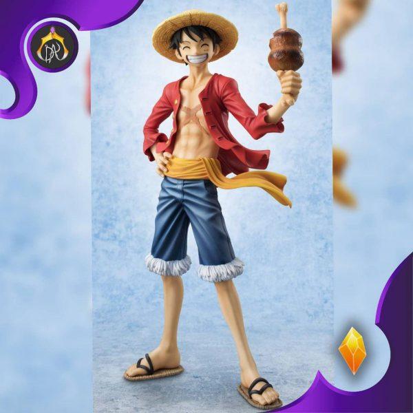 مجسمه Luffy با گوشت