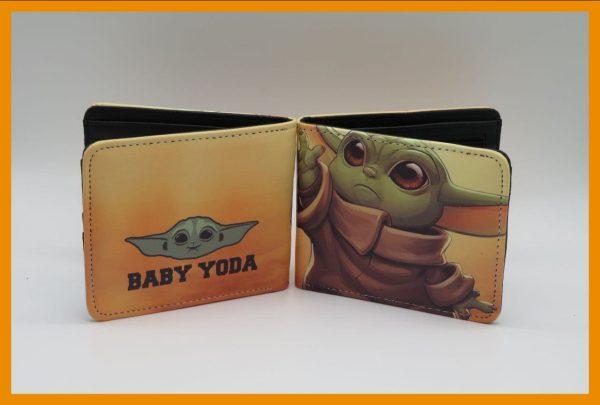 کیف پول طرح Baby Yoda مدل یک