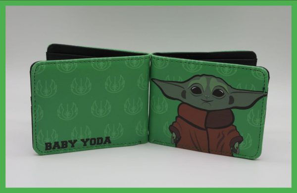 کیف پول طرح Baby Yoda دوم