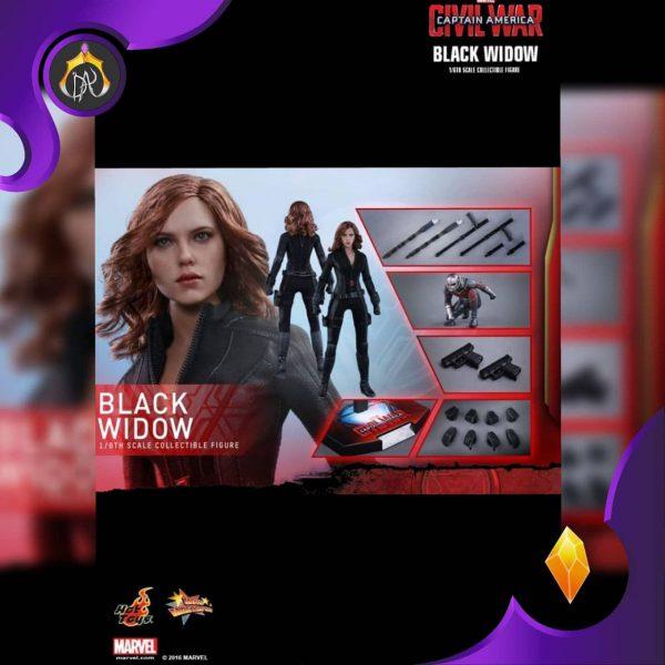 اکشن فیگور Black Widow بلک ویدو Hot Toys