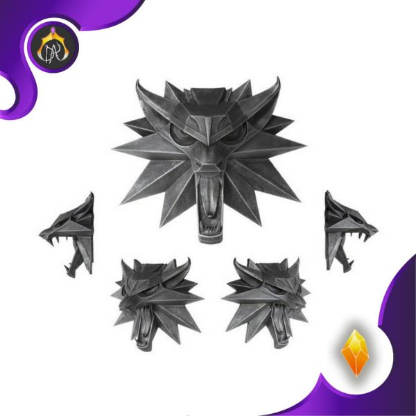 آویز Witcher 3 Wolf ویچر