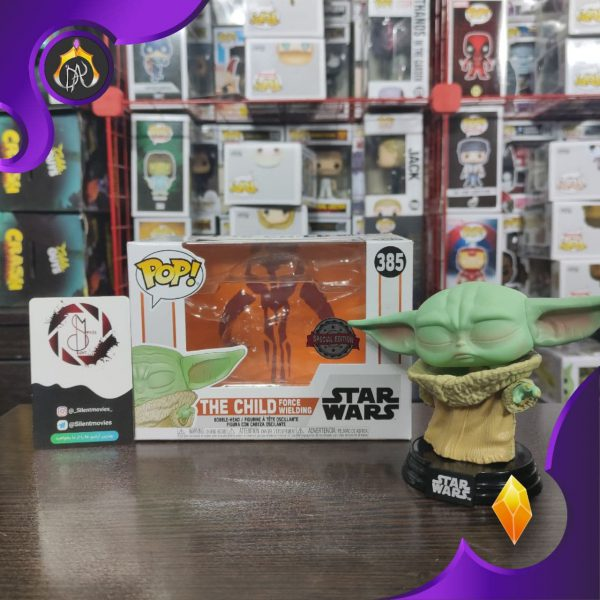 فانکو پاپ Baby Yoda ( The Child) Force Wielding
