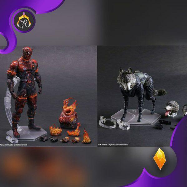ست اکشن فیگور های D-Dog & Man on Fire