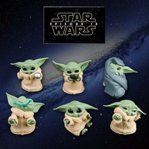 ست فیگور های Baby Yoda بیبی یودا