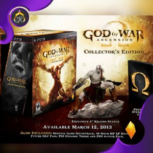 مجسمه God of War Ascension