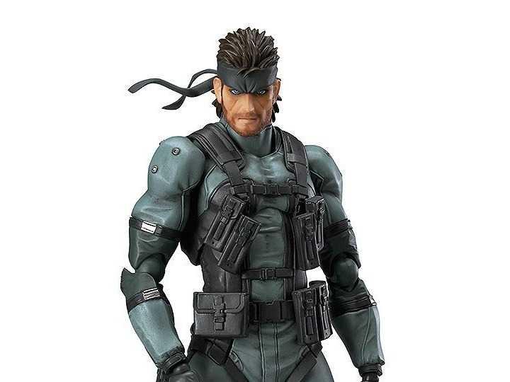 اکشن فیگور Solid Snake متالگیر 2