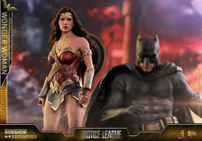 اکشن فیگور Wonder Woman هات تویز Deluxe