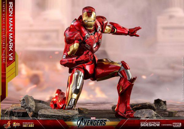 اکشن فیگور Iron Man Mark Vii هات تویز