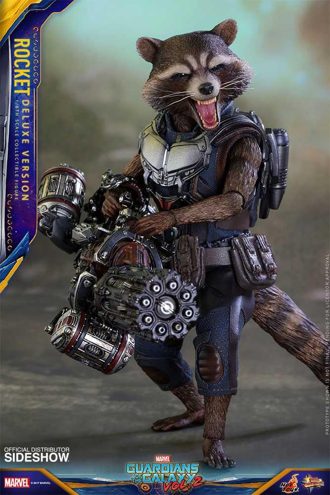 اکشن فیگور Rocket راکت Deluxe