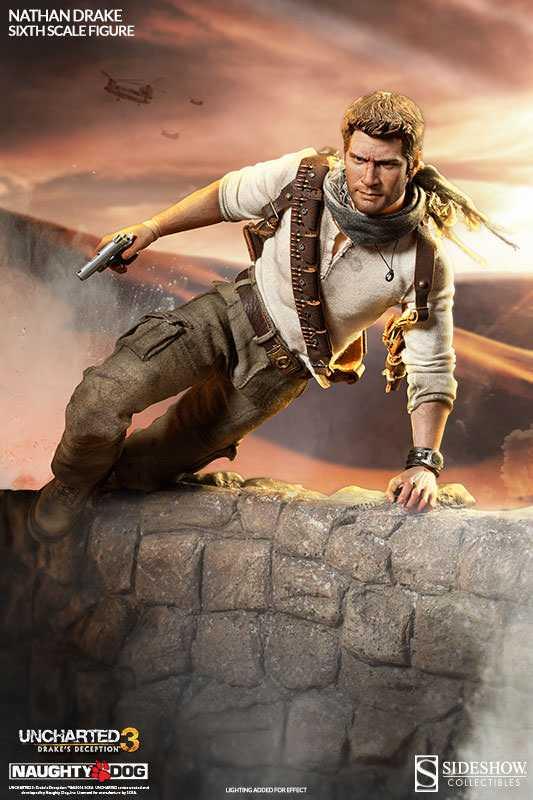 اکشن فیگور Nathan Drake Uncharted 3