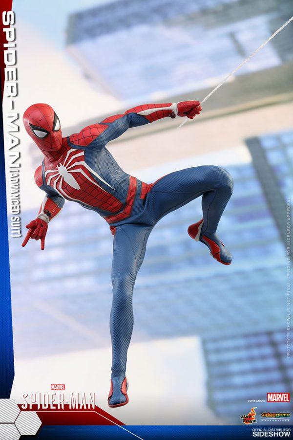 اکشن فیگور Spiderman Advanced Suit هاتتویز