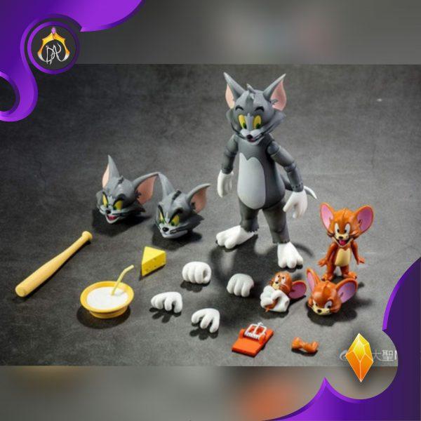ست اکشن فیگور Tom & Jerry تام و جری