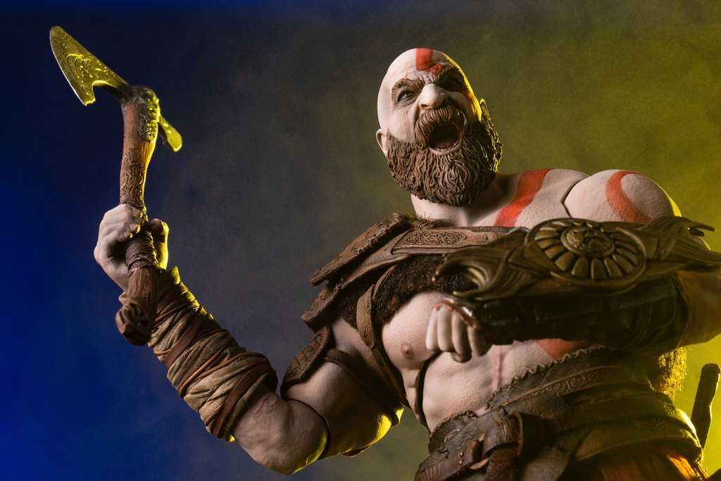 اکشن فیگور Kratos کریتوس Gow 2018
