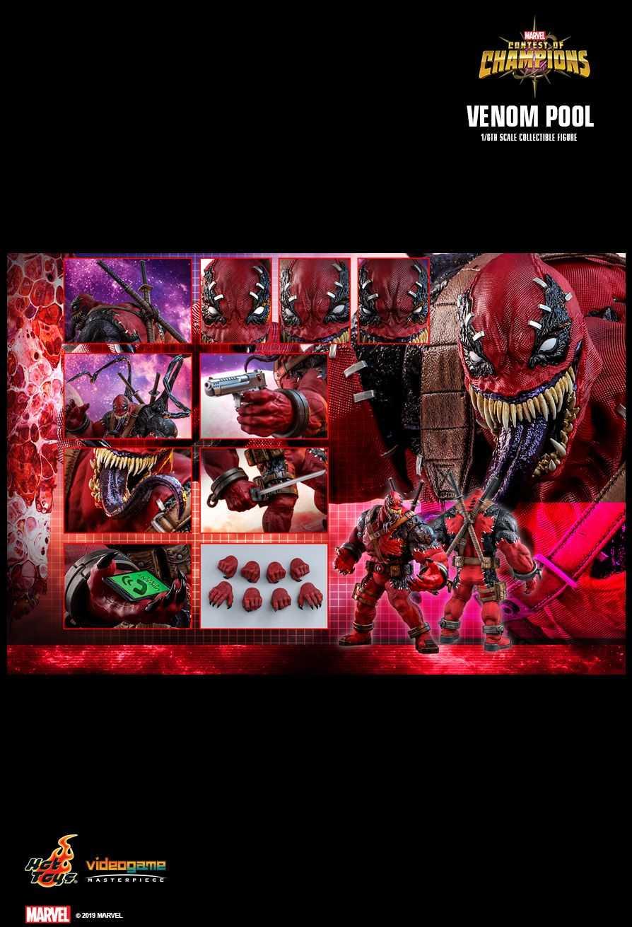 اکشن فیگور Venompool هات تویز