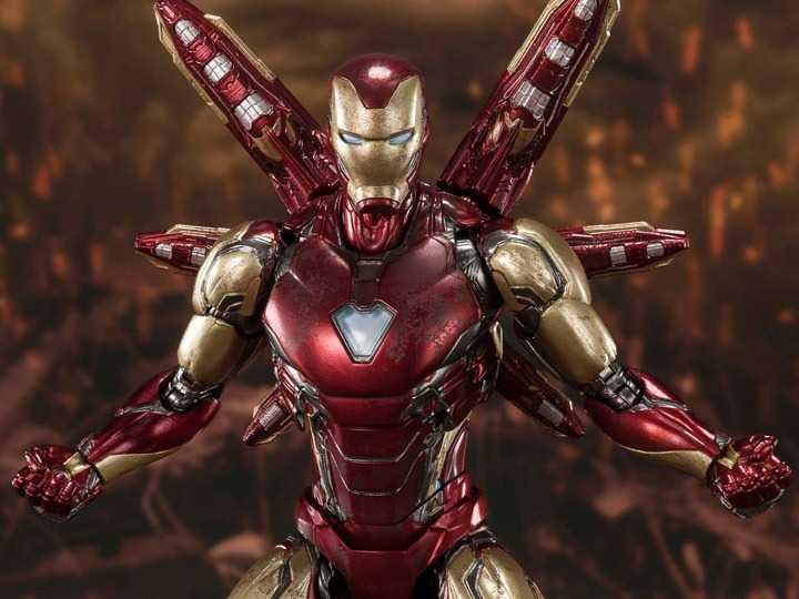 اکشن فیگور Iron Man Mark 85 آیرون من مارک 85 برند Bandai