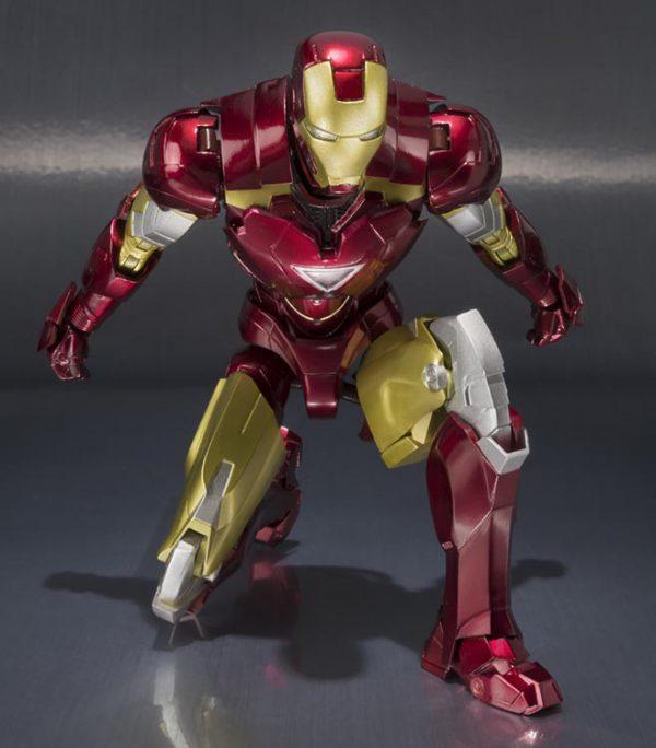 ست اکشن فیگور Iron man Mark 6 & Hall of Armor برند Bandai