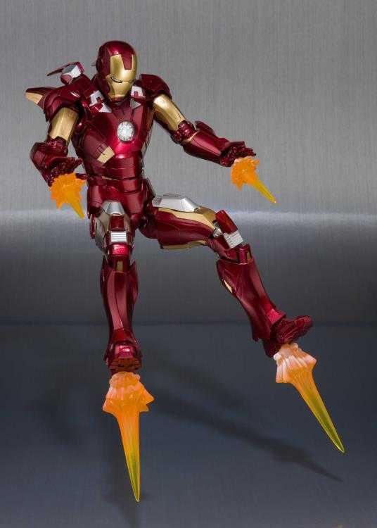 ست اکشن فیگور Iron man Mark 7 & Hall of Armor برند Bandai