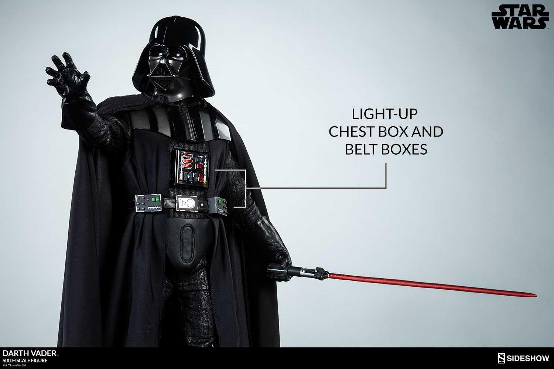 اکشن فیگور Darth Vader دارث ویدر برند Sideshow