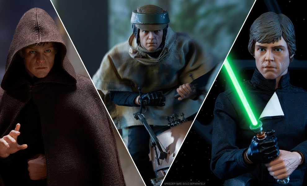 اکشن فیگور Luke Skywalker برند سایدشو