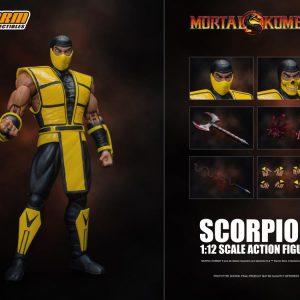اکشن فیگور Scorpion اسکورپیون Mortal Kombat