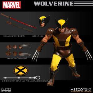اکشن فیگور Wolverine ولورین برند مزکو