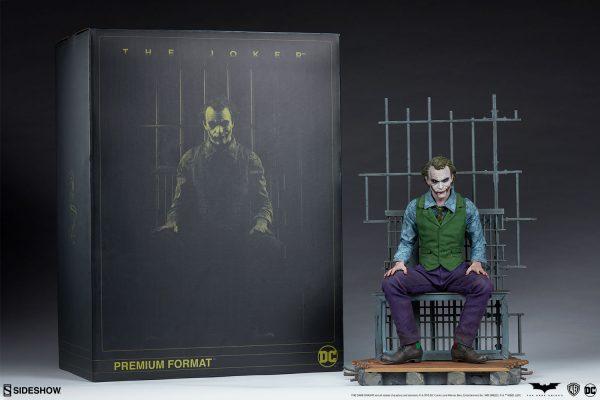 مجسمه Joker دارک نایت برند سایدشو