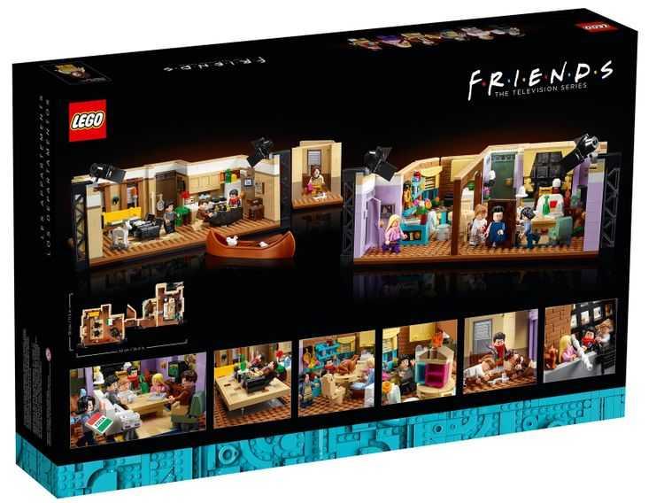 ست لگو آپارتمان های سریال فرندز Friends