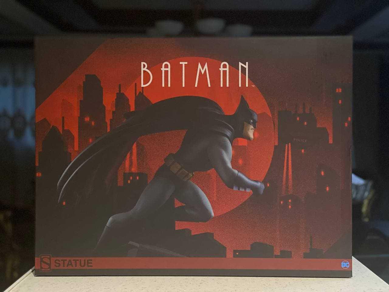 مجسمه Batman Animated Series یکی از نوستالژی ترین بتمن ها
